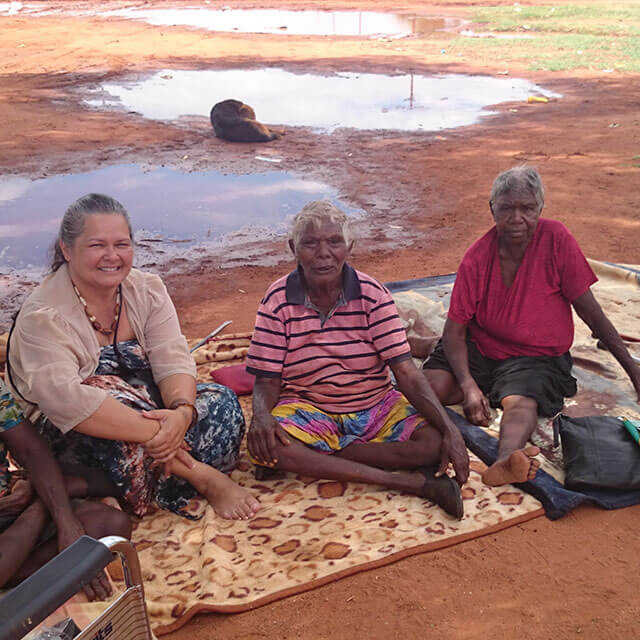 Modern Songline project on the move